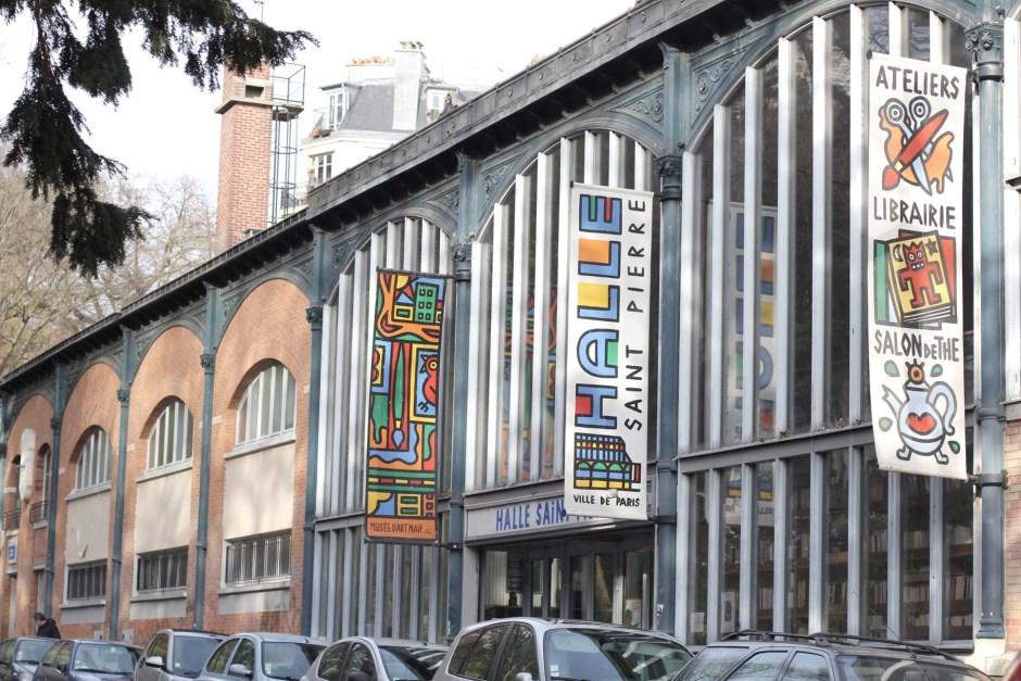 La Halle Saint Pierre, Paris