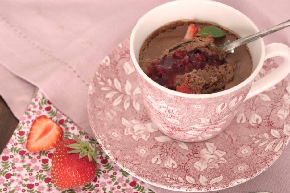 Mousse Chocolat & fruits rouges