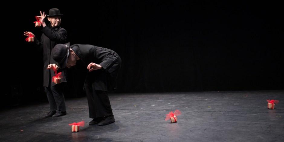 Les Collectionneurs, mime corporel - concours places de théâtre