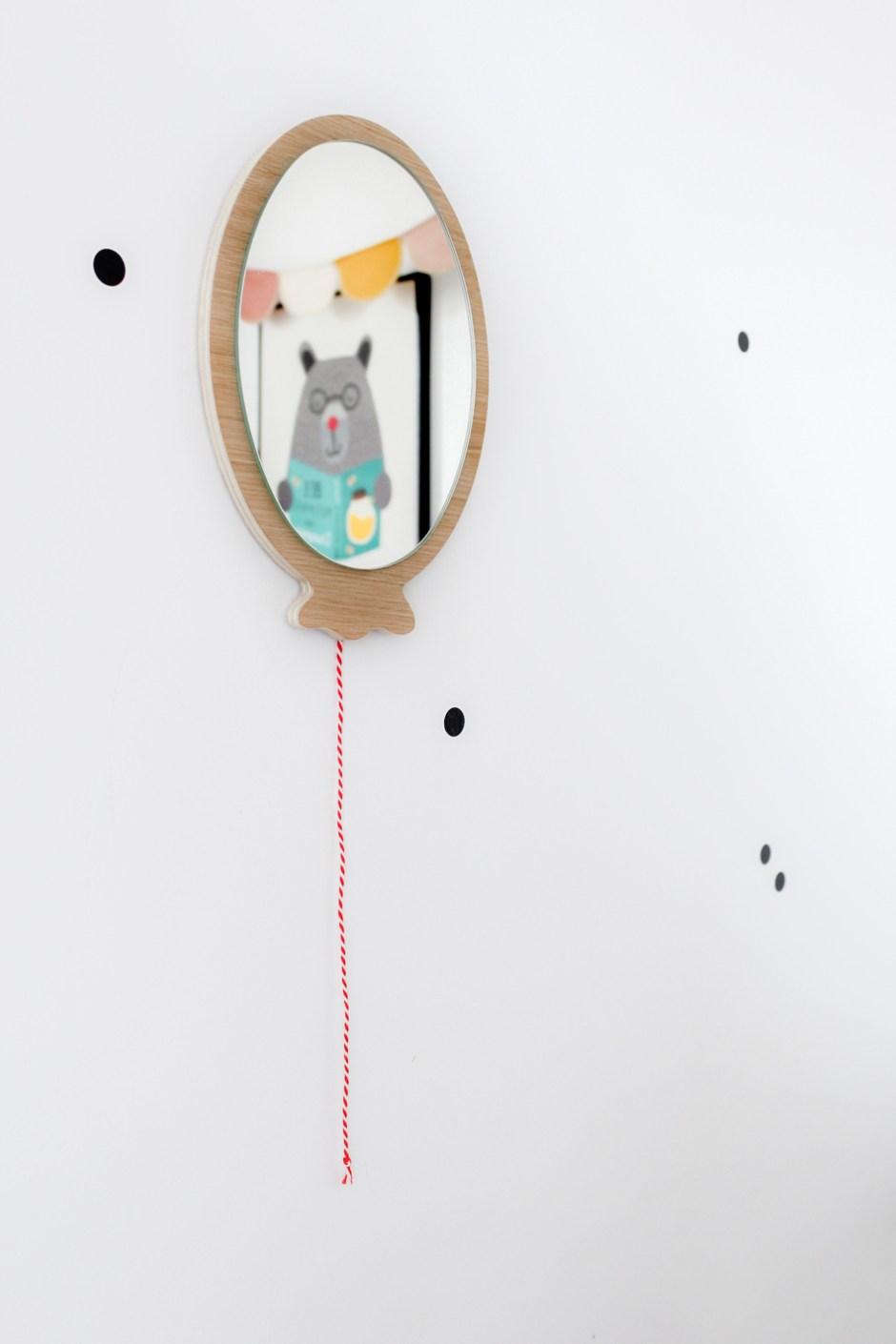 Les nouveautés déco : miroir ballon & illustrations kids