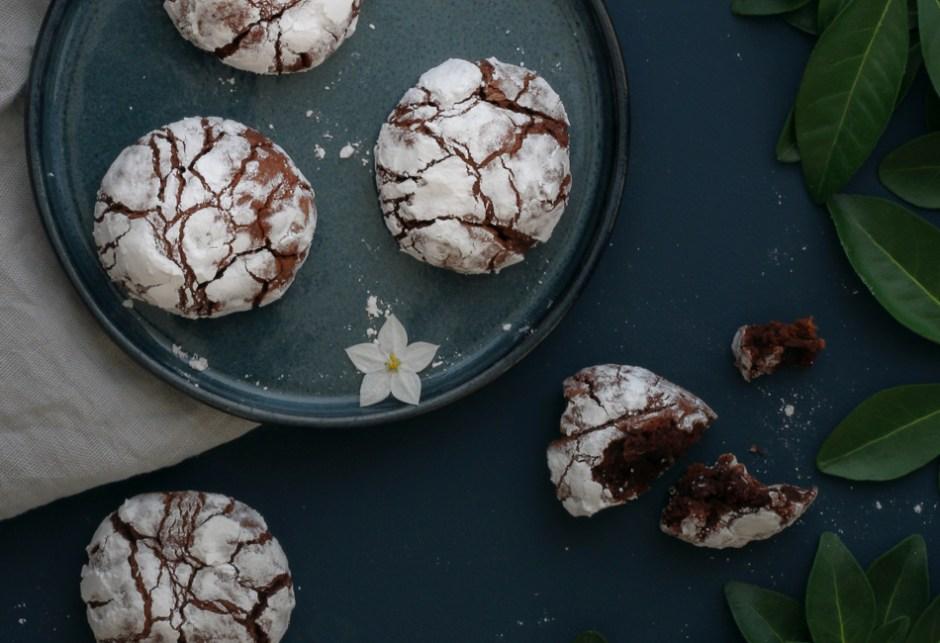 Recette des crinkles au chocolat