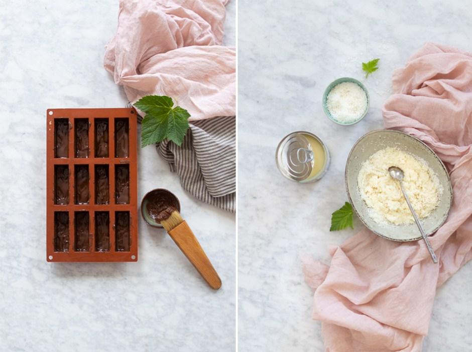 La recette des bountys glacés faits maison