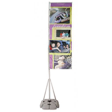outdoor flags banner signage