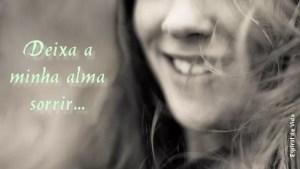 Alma a sorrir