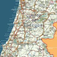 Mapa de Portugal: geografia e turismo das regiões