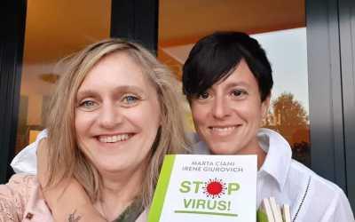 Stop Virus!  Il nuovo libro della biologa nutrizionista Marta Ciani e della giornalista Irene Giurovich