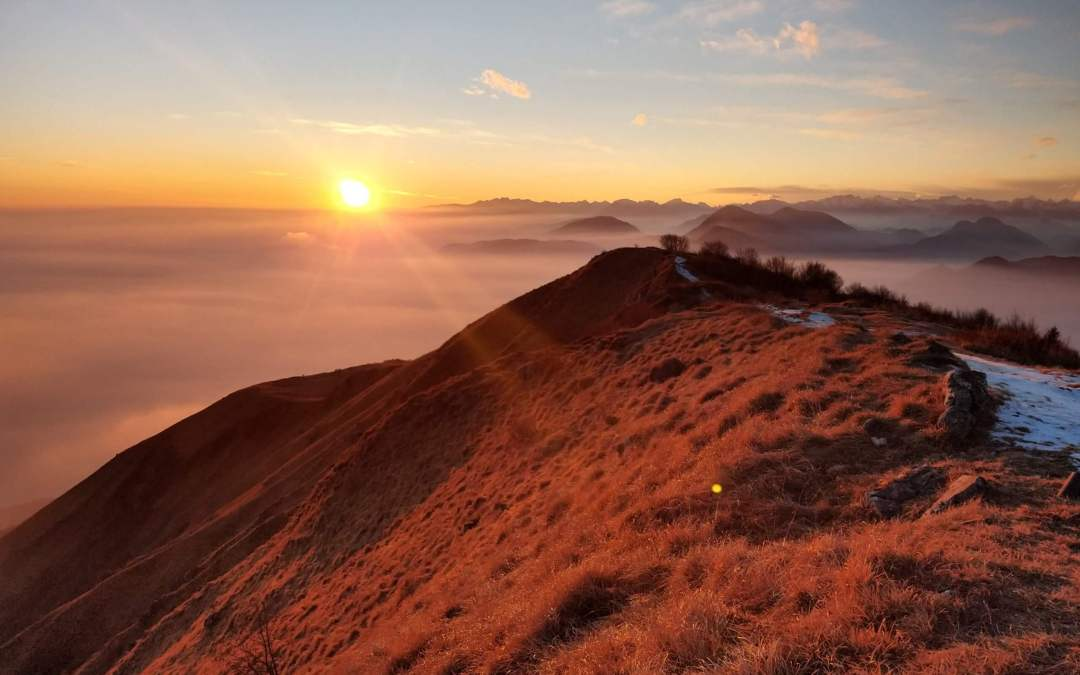 Escursione al tramonto sul Cuarnan