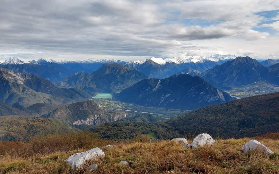 Escursione panoramica sulla cresta del Monte Cuar