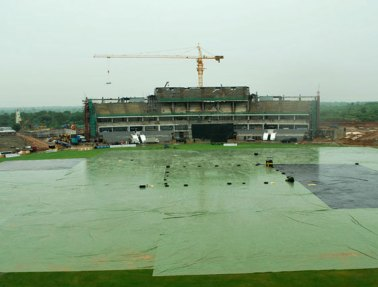 There was no chance of play in Hambantota as incessant rain hit the ground