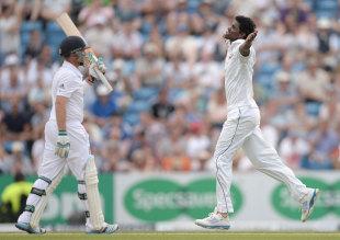 Ian Bell fell to Shaminda Eranga, England v Sri Lanka, 2nd Investec Test, Headingley, 2nd day, June 21, 2014