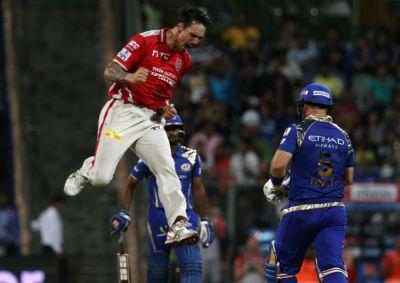 IPL 2015 Kings XI Punjab v Mumbai Indians