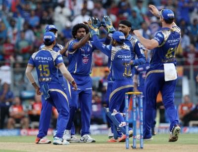IPL 8 Mumbai Indians v Sunrisers Hyderabad