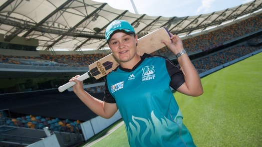 Former tennis star Ashleigh Barty signs for WBBL | Cricket ...