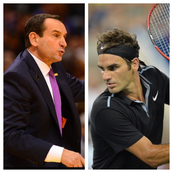 Coach And Roger Federer 1 000-win Club - Espn Front Row