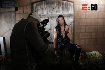 WWE wrestler Adam Rose. (Photo courtesy E:60)