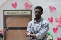 Chris Singleton is a 19-year old outfielder for Charleston Southern University. His mother, Sharonda Coleman-Singleton, was among nine people shot and killed in the Charleston Emanuel AME church massacre on June 17, 2015. (E:60)