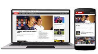 ESPN Mexico is one of six Spanish-language websites ESPN relaunched Dec. 1.