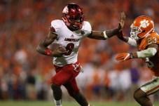 Clemson versus Louisville. (Allen Kee/ESPN Images)