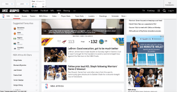 Kwese Sport provides NBA Finals coverage in sub-Saharan Africa.