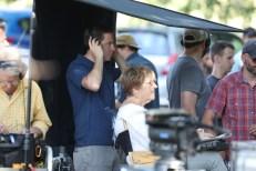 Kevin Sullivan (wearing headphones) oversees the shoot. (Allen Kee/ESPN Images)