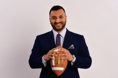 """ESPN's Adam Amin also has contributed to Peter Burns' """"Worst Day Ever"""" Facebook post. (Phil Ellsworth / ESPN Images)"""