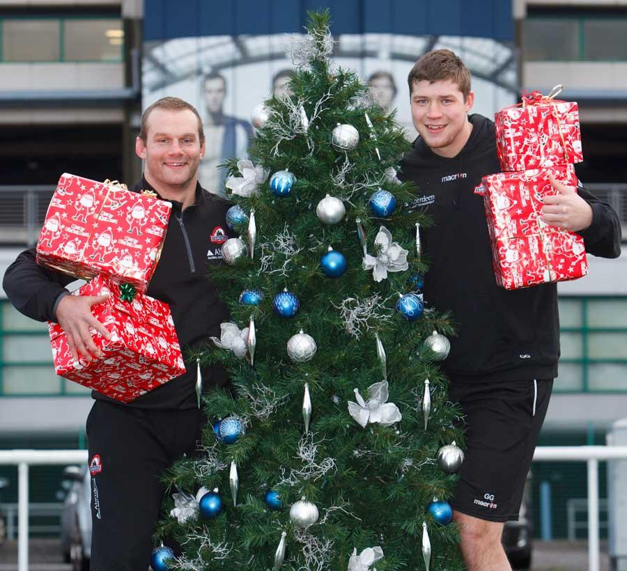 Geoff Cross és Chris Gilchrist - rögbi karácsonyig