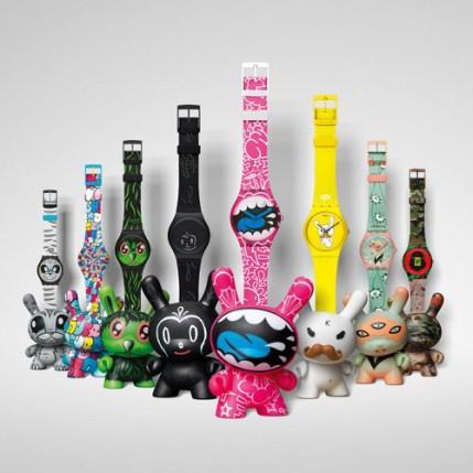 Swatch + Kidrobot
