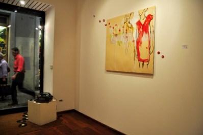 """Tommaso De Luca, """"A macchia d'olio"""". Courtesy Galleria dArte Il Vicolo. Start Genova 2011. Photo Matteo Zappettini"""