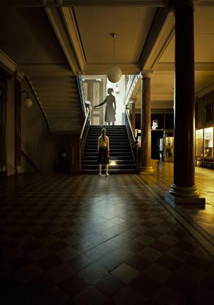 """Hyun Jin Kwak, """"Study of Elements - encounter 1"""", 2009, cm 80x100, Lasrchrome print sillicon glas. Courtesy UNO+UNO Gallery, Milano"""
