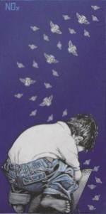 START YOUR COUNTDOWN, poster art - acrilico su tela, 30x20, 2011