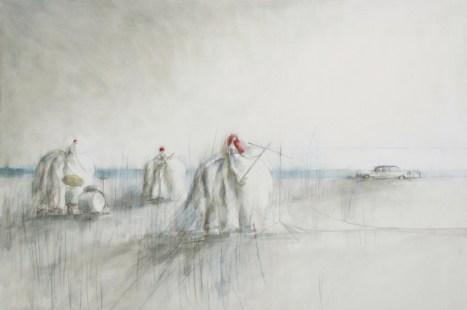 """""""Concerto segreto"""", 2012, cm 150x100"""