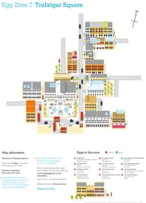 Egg Map - Zone 7: Trafalgar Square