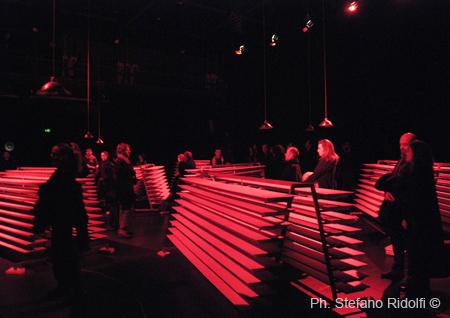 OA-1 atto La Parola- con l'opera di Alfredo Pirri