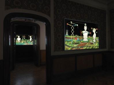 Veduta della mostra Humanescape, 2012. Foto: Dario Lasagni