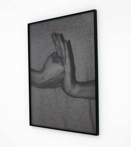 Certainly not. Against, 2012, dittico, stampe su alluminio, cm 80x60 (ognuna). Courtesy Galleria Tiziana Di Caro, Salerno. Foto: Mimmo Di Caro