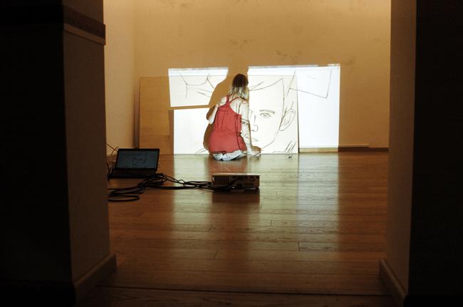 Preparazione dei lavori per la mostra COMMA Exhibition | Palazzo Penna, Perugia | Comma - Urban Art Festival