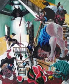 Enrico Robusti, Il Giudizio universale ci sorprese sulle scale