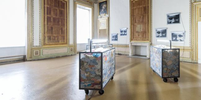 """Veduta della mostra """"Oltre il muro"""", Castello di Rivoli, Rivoli (TO). © Castello di Rivoli"""