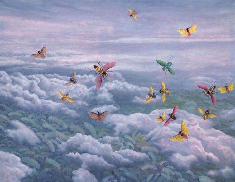 Fang Lijun 2006.7.1, 2006 olio su tela/oil on canvas, cm 139×180. © Fritz Kaiser Foundation | www.88-mocca.org