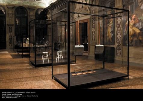 The Small Utopia. Ars Multiplicata, 2012, veduta della mostra, courtesy Fondazione Prada