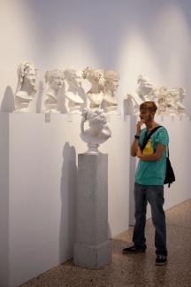 Veduta della mostra Past Forward, Musei Civici, Bassano Del Grappa VI