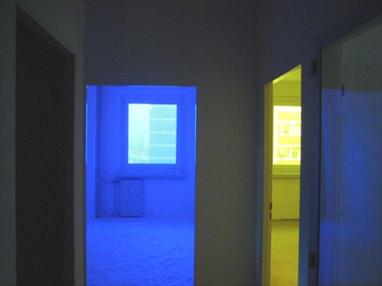Greuelmärchen, 2006 installazione site-specific video sonora interattiva / site-specific audio-video interactive installation (dettaglio / detail)