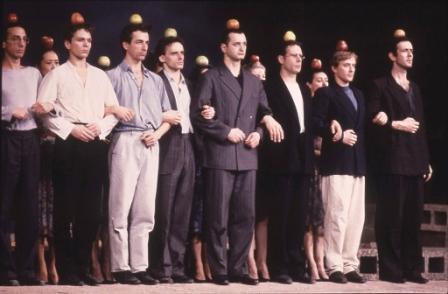 """Pina Bausch, Palermo Palermo, 1990, DVD proiezione video – video/suono/colore, 2'04"""". Courtesy RAI Teche, foto di F. Carbone"""