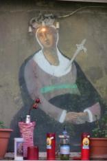 Stefania Galegati Shines, Greetings from Palermo, 2012, cartoline, 10x15 cm. Courtesy Francesco Pantaleone arte contemporanea, Palermo e Pinksummer, Genova