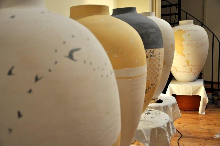 Immagine di vasi nello Studio di Pizzi Cannella