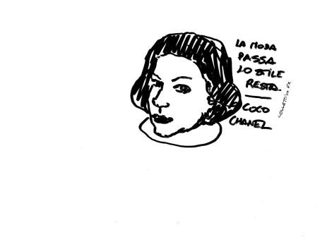 Collettivo FX, sticker, Coco Chanel