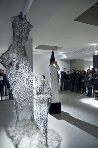 Performance di Maria Crispal, Courtesy OltreDimore, Bologna