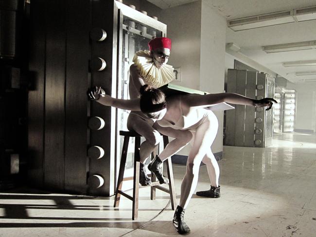 Orit Ben Shitrit VIVE LE CAPITAL, 2012 video still 16'