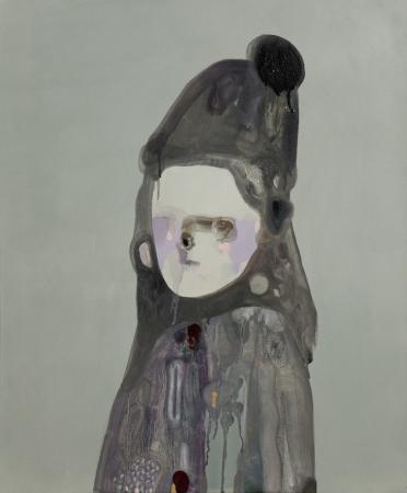 G. Castelli, Prima Piano, 2013, acrilico, gesso, olio e smalto su tela, cm 60x50