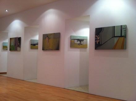"""Veduta della mostra Laura Giardino """"So Quiet..."""". © Area B, Milano. Foto: Paola Cancemi"""